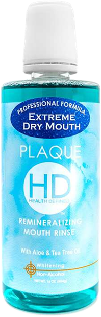 PLAQUE HD EXTREME DRY MOUTH RINSE
