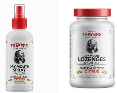 THAYERS SPRAY AND LOZENGES
